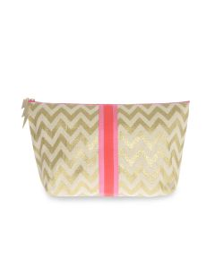 Small Gold ZigZag Bag