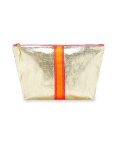 Large Sheeny Gold Bag